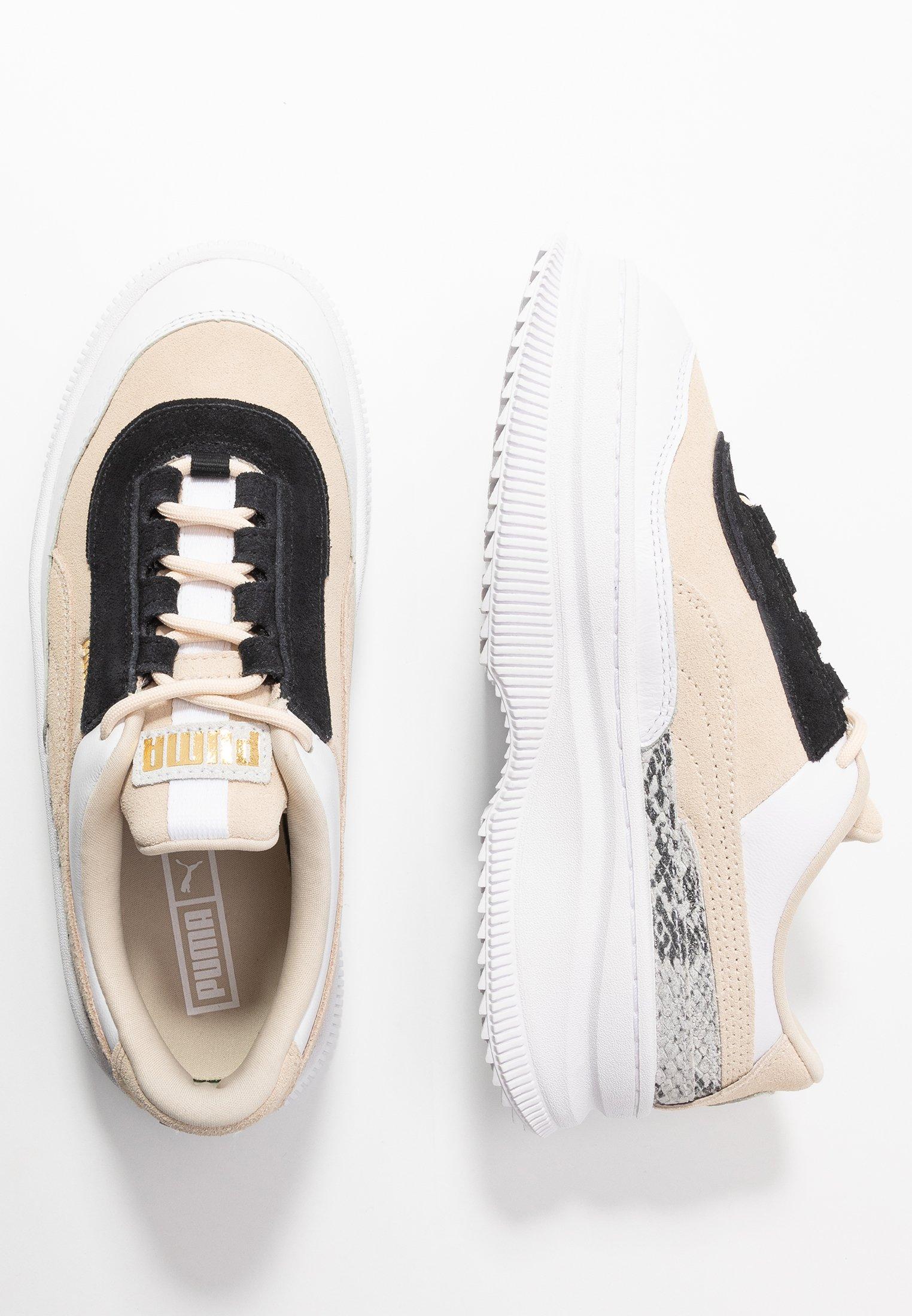 DEVA REPTILE - Sneakers laag - tapioca