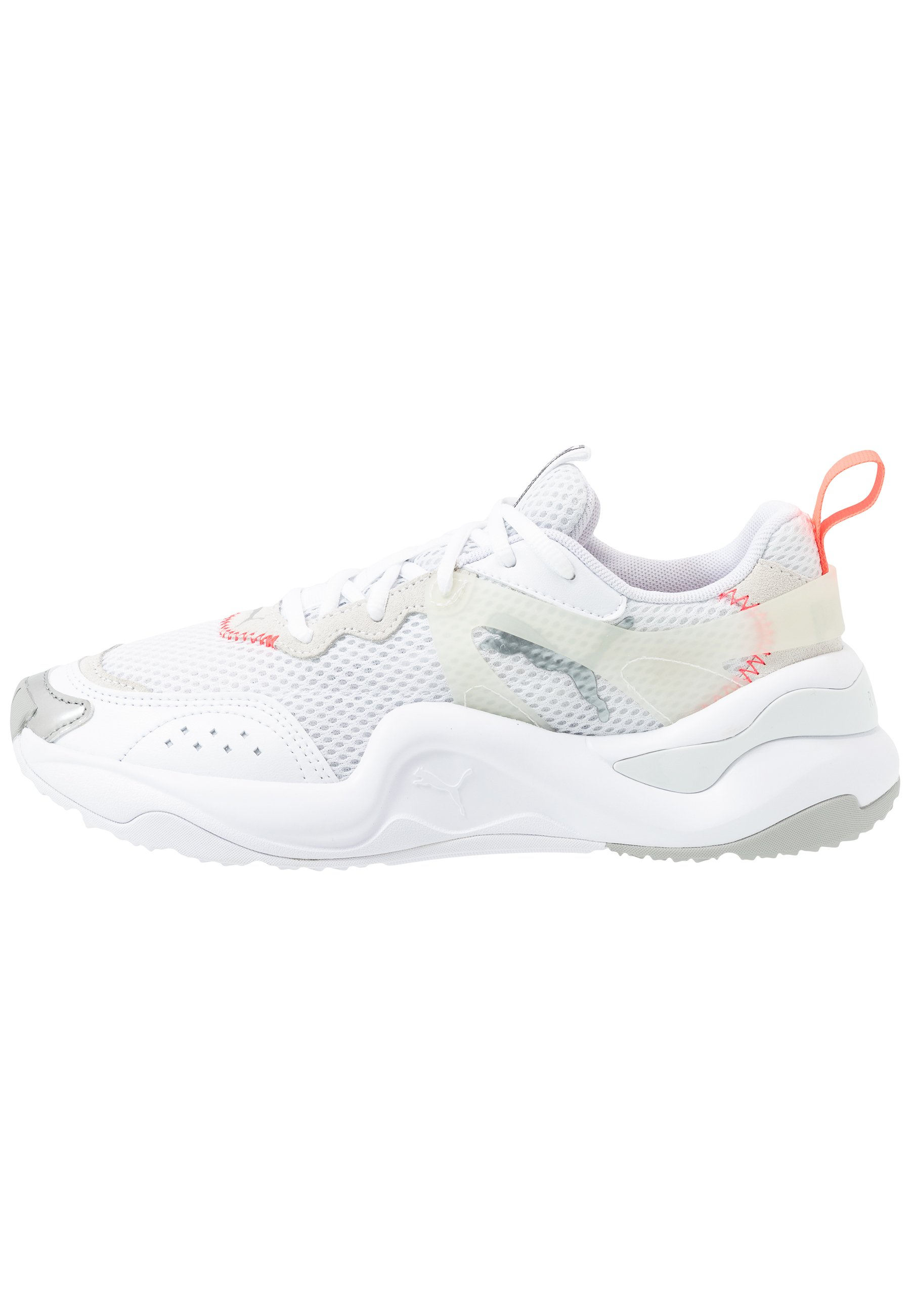 RISE CONTRAST - Trainers - white/ignite pink