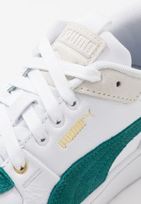 Puma - CALI SPORT HERITAGE  - Baskets basses - white/teal green - 2