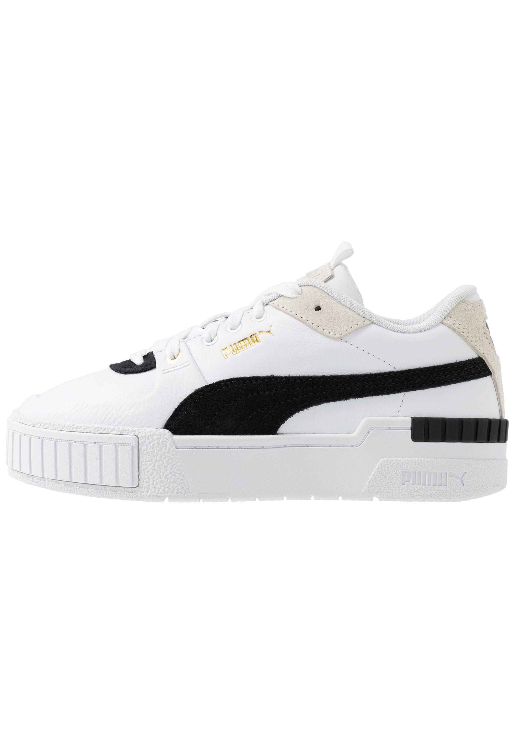 CALI SPORT HERITAGE - Sneakers laag - white/black
