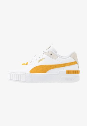 CALI SPORT HERITAGE  - Sneakersy niskie - white/golden rod