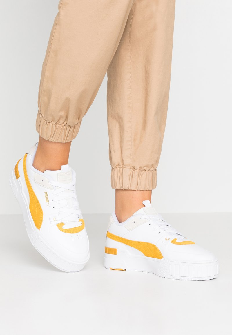 Puma - CALI SPORT HERITAGE  - Baskets basses - white/golden rod