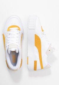 Puma - CALI SPORT HERITAGE  - Baskets basses - white/golden rod - 3
