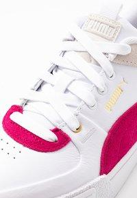 Puma - CALI SPORT HERITAGE  - Baskets basses - white/cerise - 2