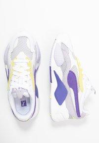 Puma - Trainers - white/purple corallites - 2