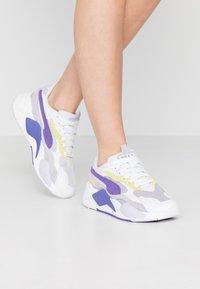 Puma - Trainers - white/purple corallites - 0