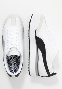 Puma - ROMA AMOR LOGO  - Baskets basses - white/black - 3