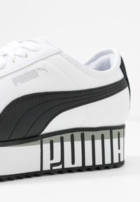 Puma - ROMA AMOR LOGO  - Baskets basses - white/black - 2