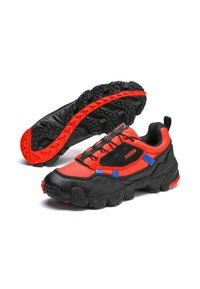Puma - TRAILFOX OVERLAND UTILITY - Sneakers basse - lava blast-puma black - 2