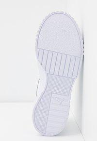 Puma - CALI - Baskets basses - white/metallic silver - 6