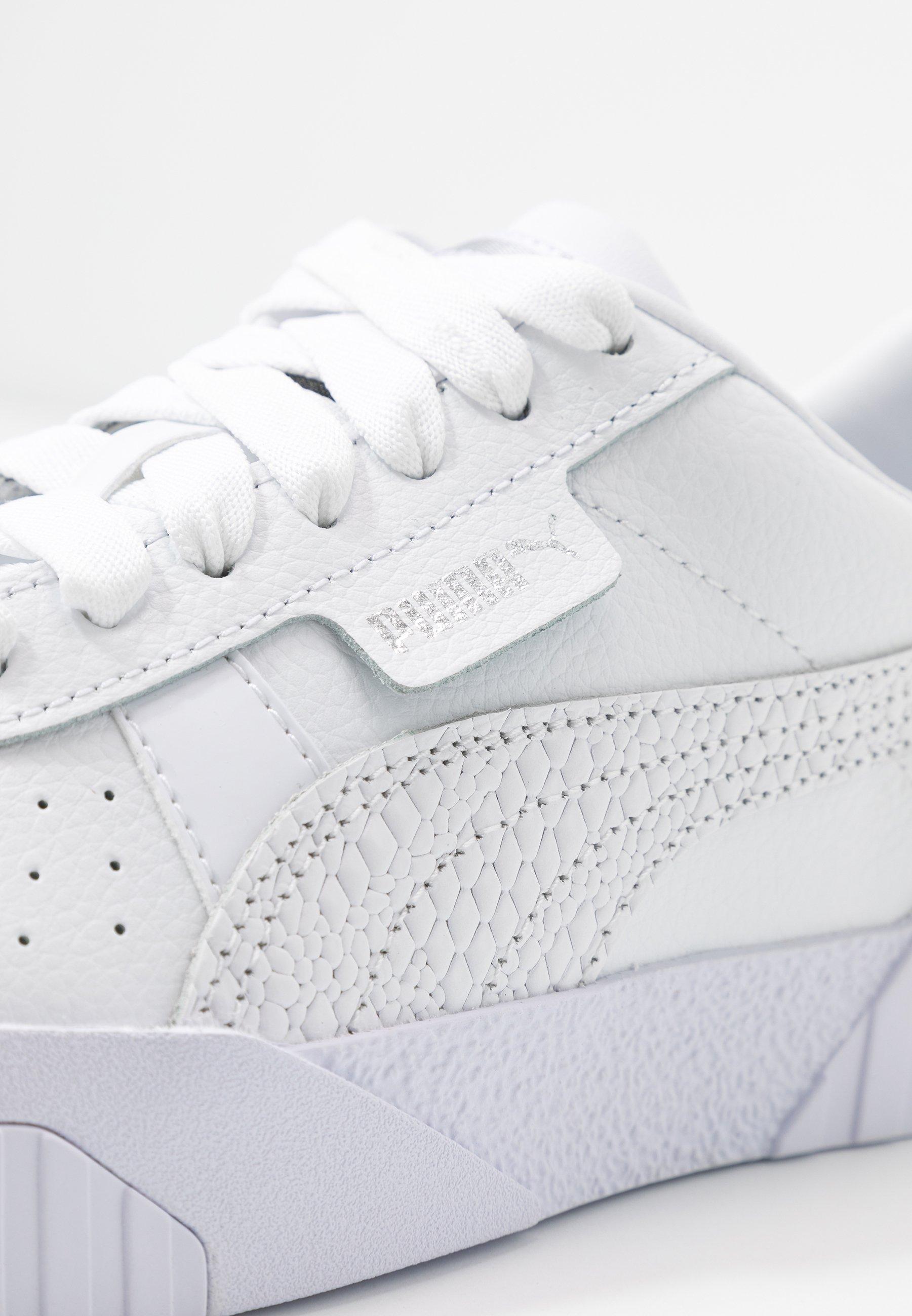 CALI - Sneakers laag - white/metallic silver
