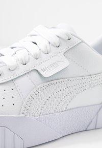 Puma - CALI - Baskets basses - white/metallic silver - 2