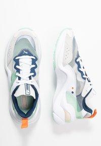 Puma - RISE - Sneakers - puma white/mist green/cantaloupe - 3