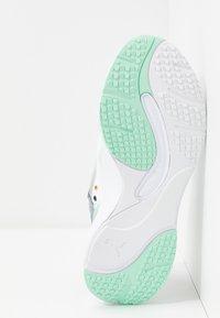 Puma - RISE - Sneakers - puma white/mist green/cantaloupe - 6