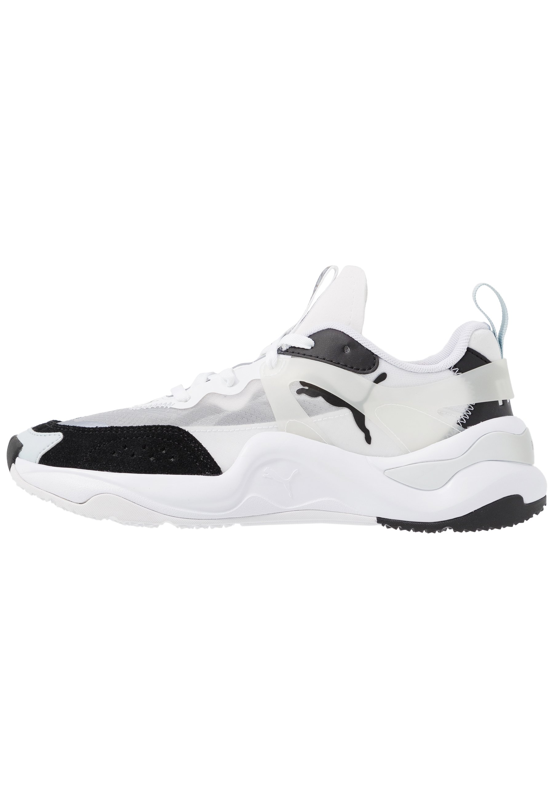 RISE - Sneakers laag - black/white
