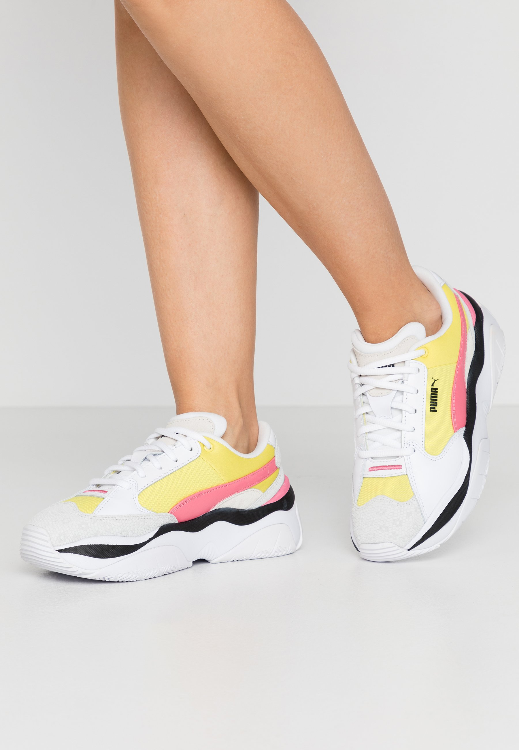 STORM.Y COLOUR BLOCK - Sneakers laag - meadowlark/white