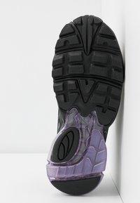 Puma - CELL STELLAR GLOW  - Sneakersy niskie - black/purple heather - 6