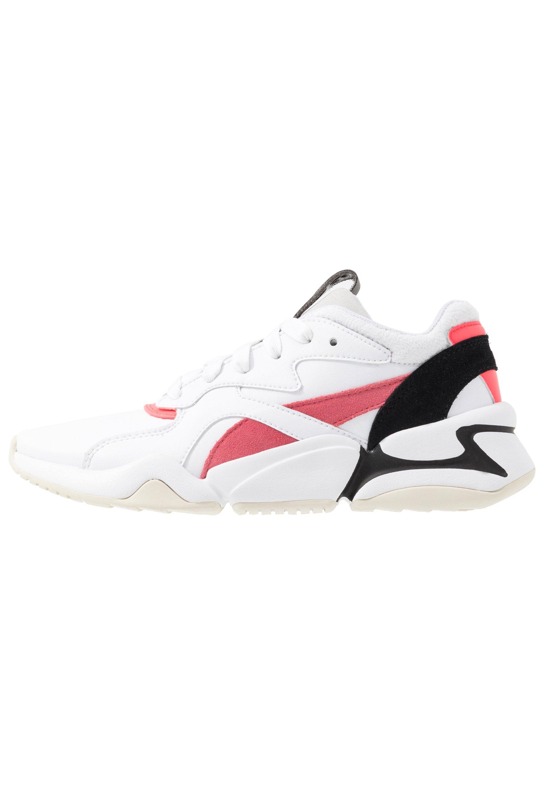 NOVA POP - Sneakers laag - white/bubblegum/ignite pink