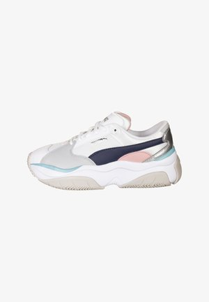 Trainers - peacot/gray/ violet