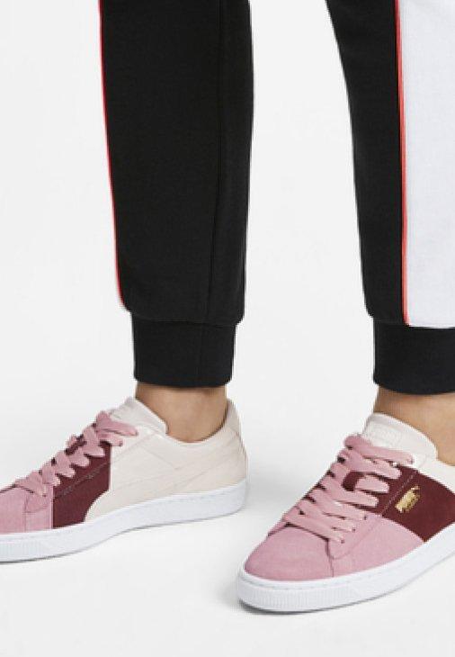 Puma - BASKET REMIX WOMEN'S TRAINERS FEMALE - Sneakers laag - bridal rose