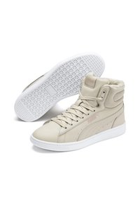 Puma - VIKKY - High-top trainers - overcast-rose gold-white - 4