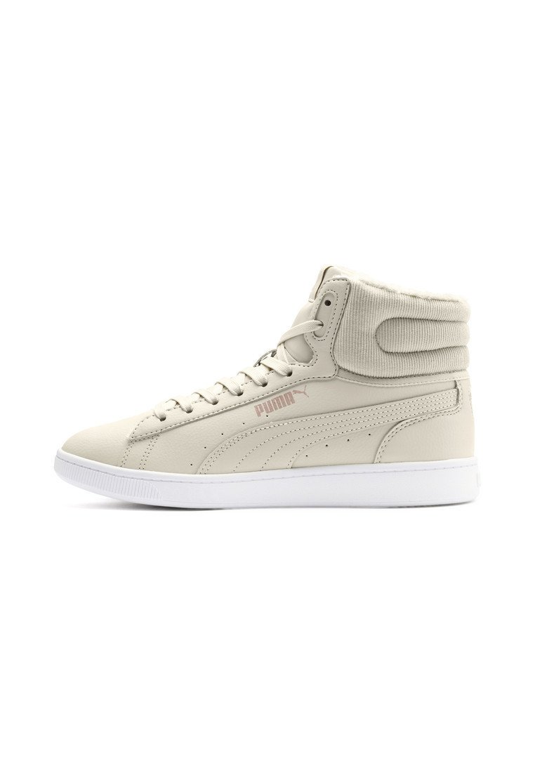Puma - VIKKY - High-top trainers - overcast-rose gold-white