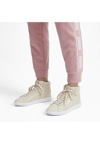 Puma - VIKKY - High-top trainers - overcast-rose gold-white - 1