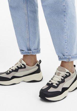 CILIA LUX - Sneakers basse - blk-silver cld-whisper white