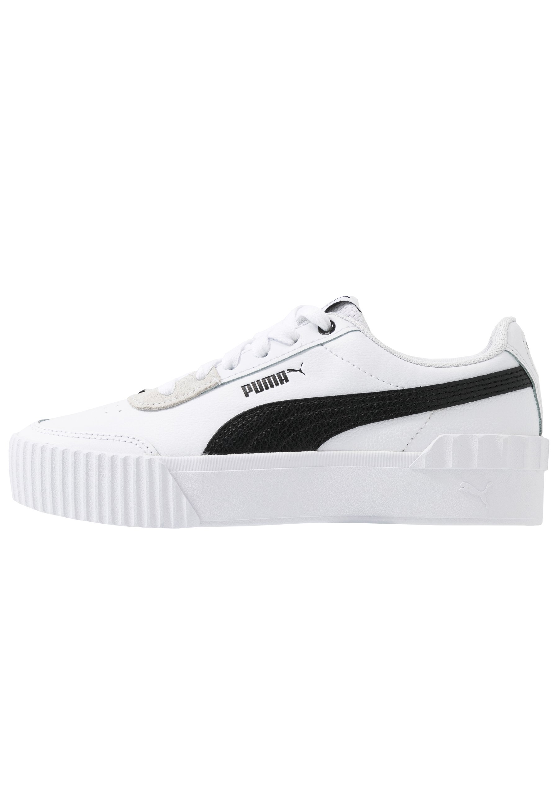 CARINA LIFT - Sneakers laag - white/black