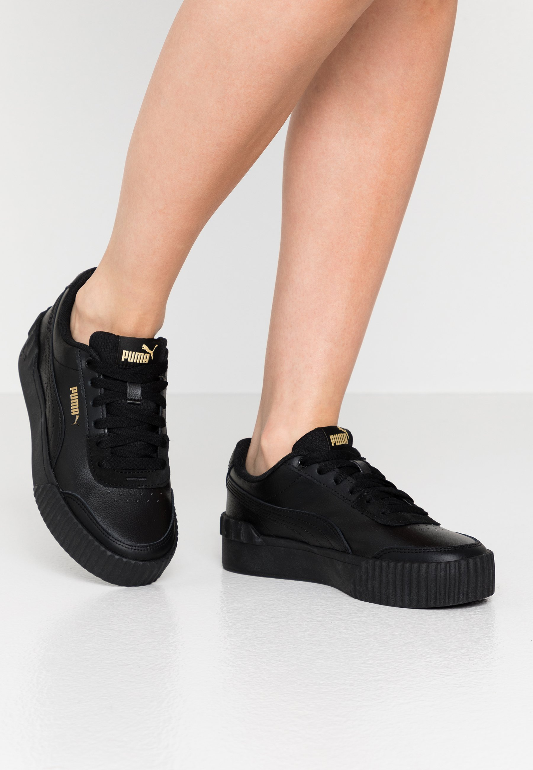 CARINA LIFT - Sneakers laag - black