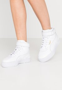 Puma - CALI SPORT WARM UP - High-top trainers - white - 0