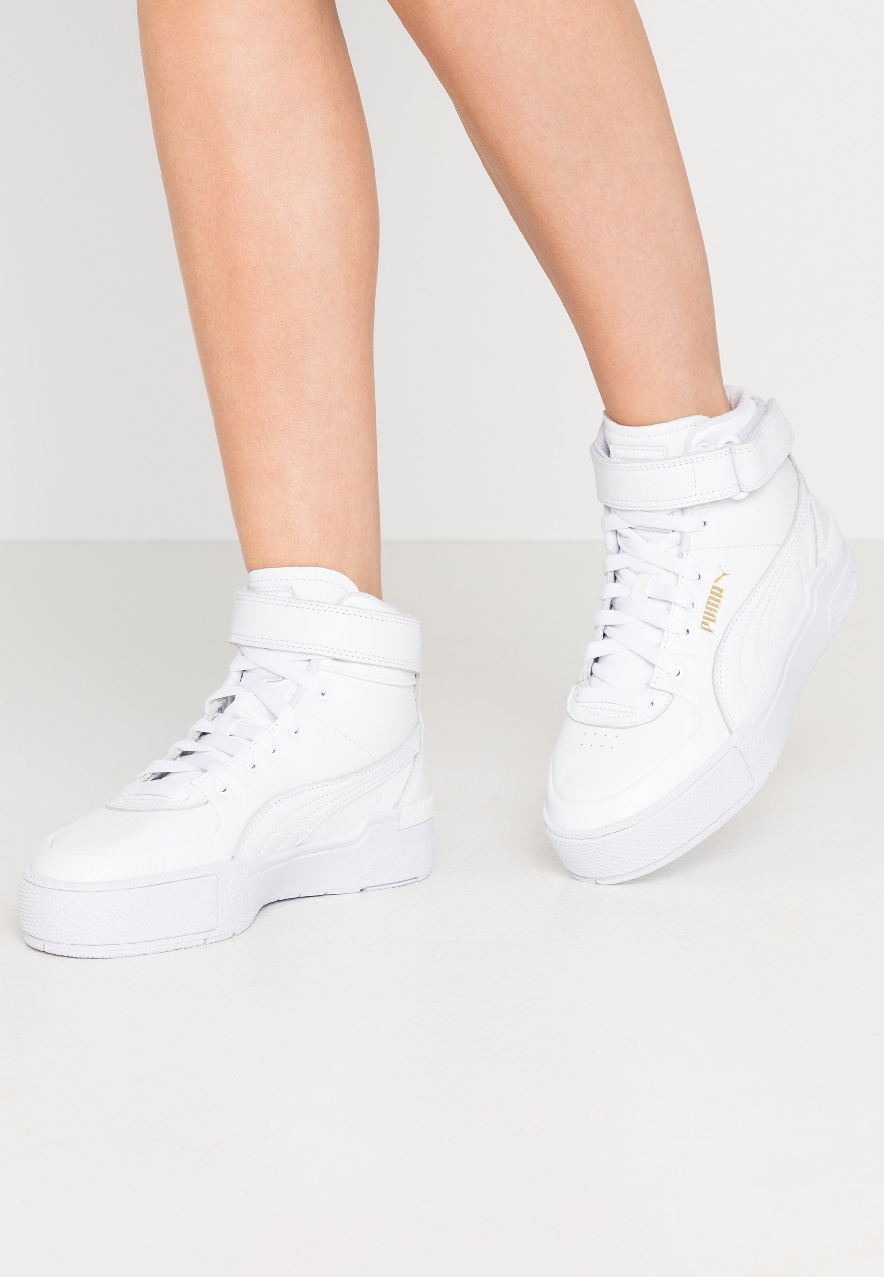 CALI SPORT WARM UP - High-top trainers - white
