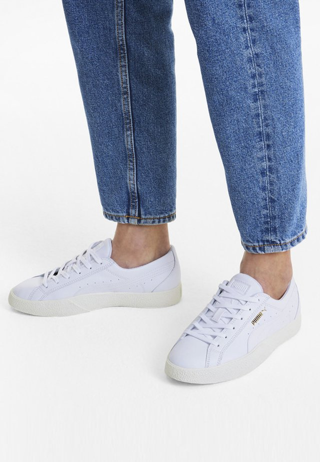LOVE - Sneakers basse - puma white-marshmallow