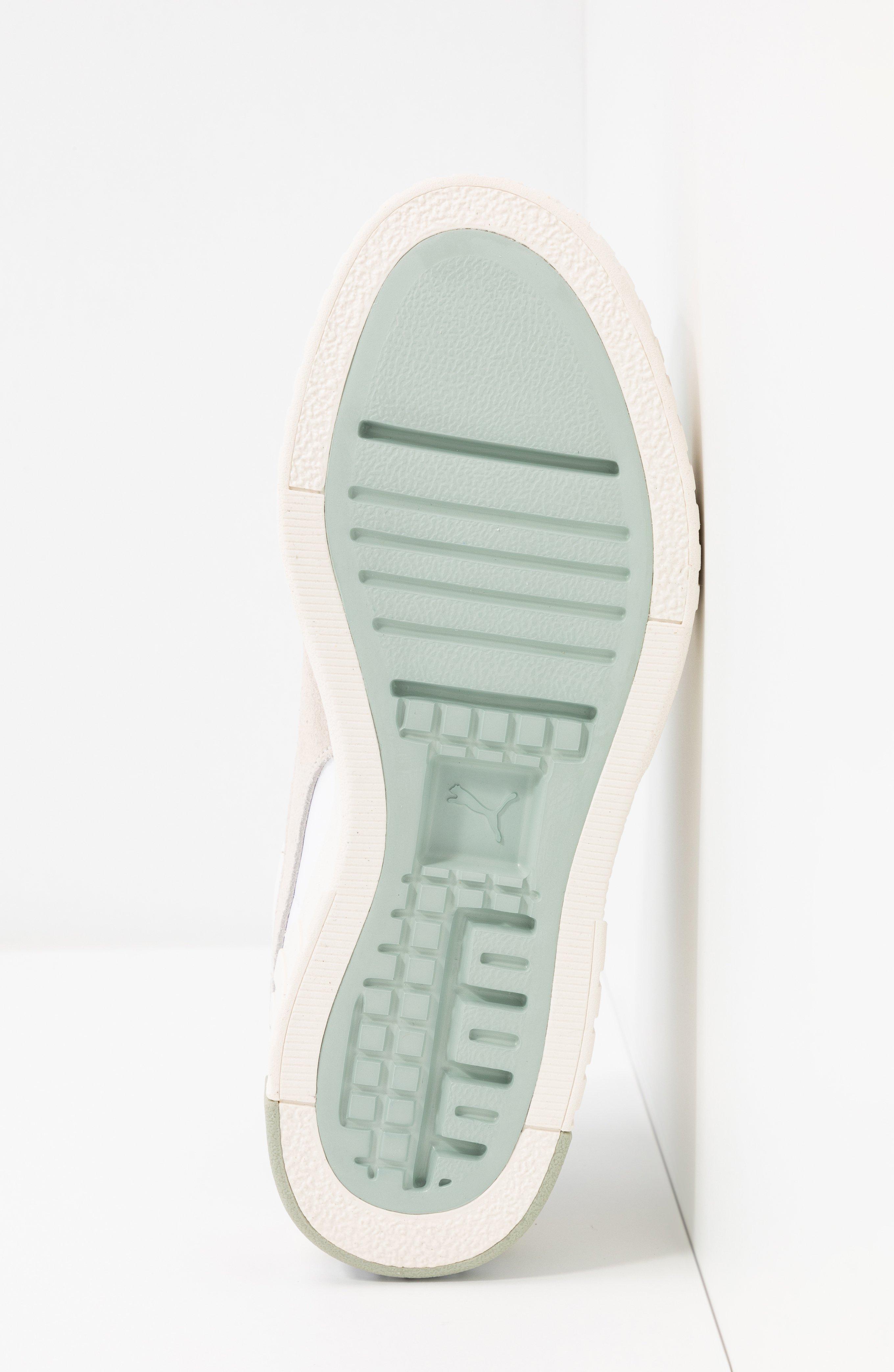 CALI WEDGE SOCAL - Sneakers laag - aqua gray/marshmallow/white