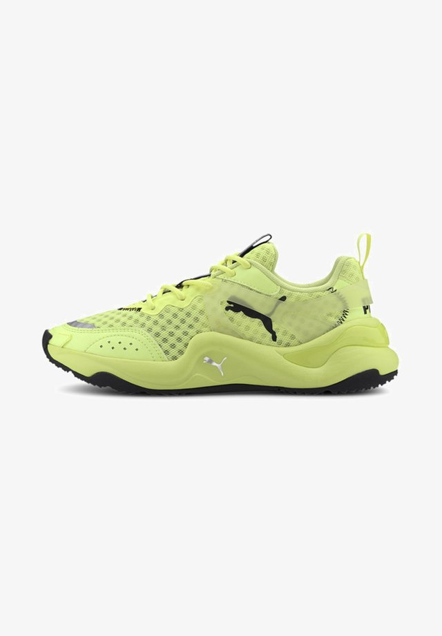 Sneakers - fizzy yellow