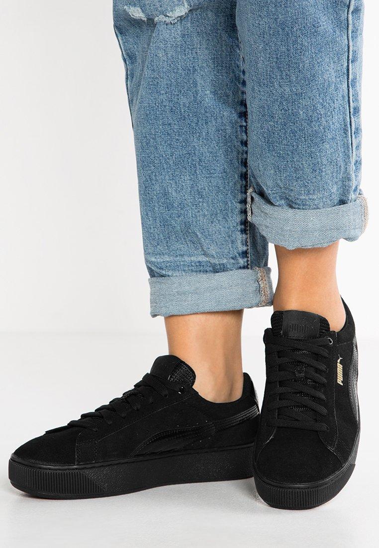 Puma - VIKKY PLATFORM - Sneakers - puma black