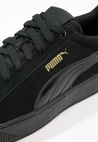Puma - VIKKY PLATFORM - Sneakers - puma black - 6