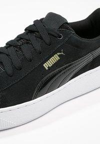Puma - VIKKY PLATFORM - Baskets basses - black/white - 6