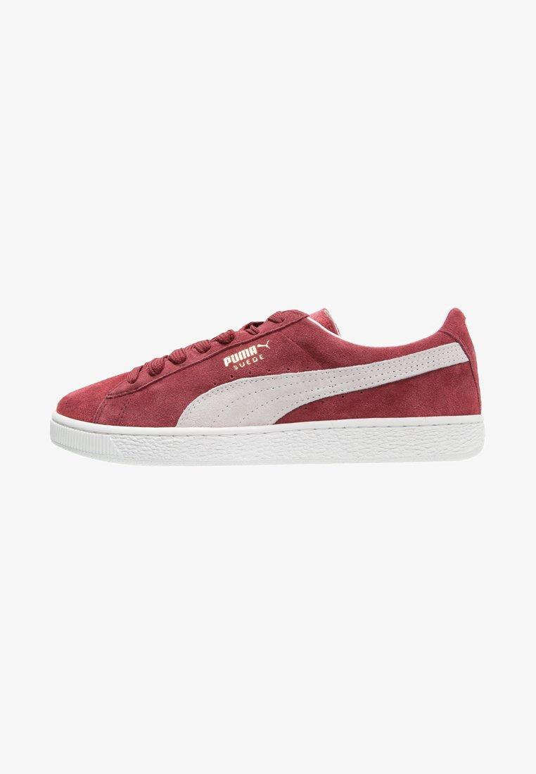 Puma - SUEDE CLASSIC+ - Sneakers laag - bordeaux/beige