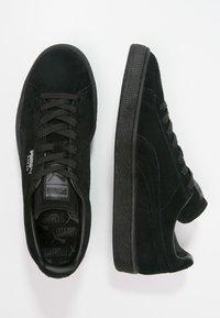 Puma - SUEDE CLASSIC+ - Baskets basses - black/dark shadow - 1