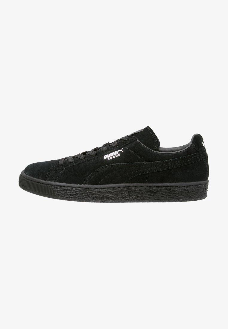 Puma - SUEDE CLASSIC+ - Trainers - black/dark shadow
