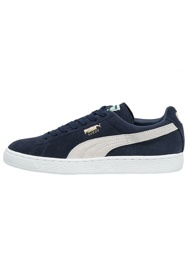 SUEDE CLASSIC+ Baskets basses peacoatwhite