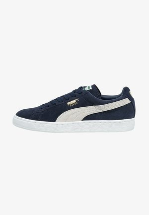 SUEDE CLASSIC+ - Baskets basses - peacoat/white
