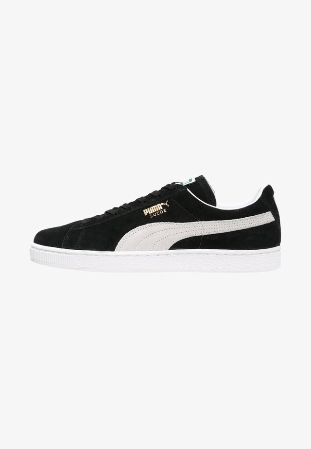 SUEDE CLASSIC+ - Baskets basses - black