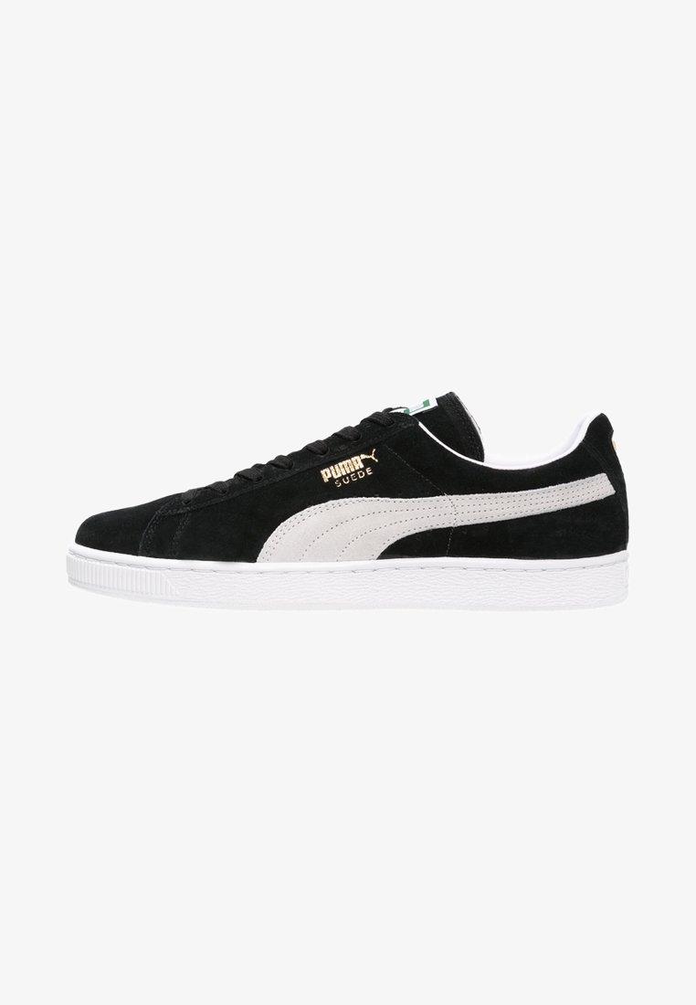 Puma - SUEDE CLASSIC+ - Baskets basses - black