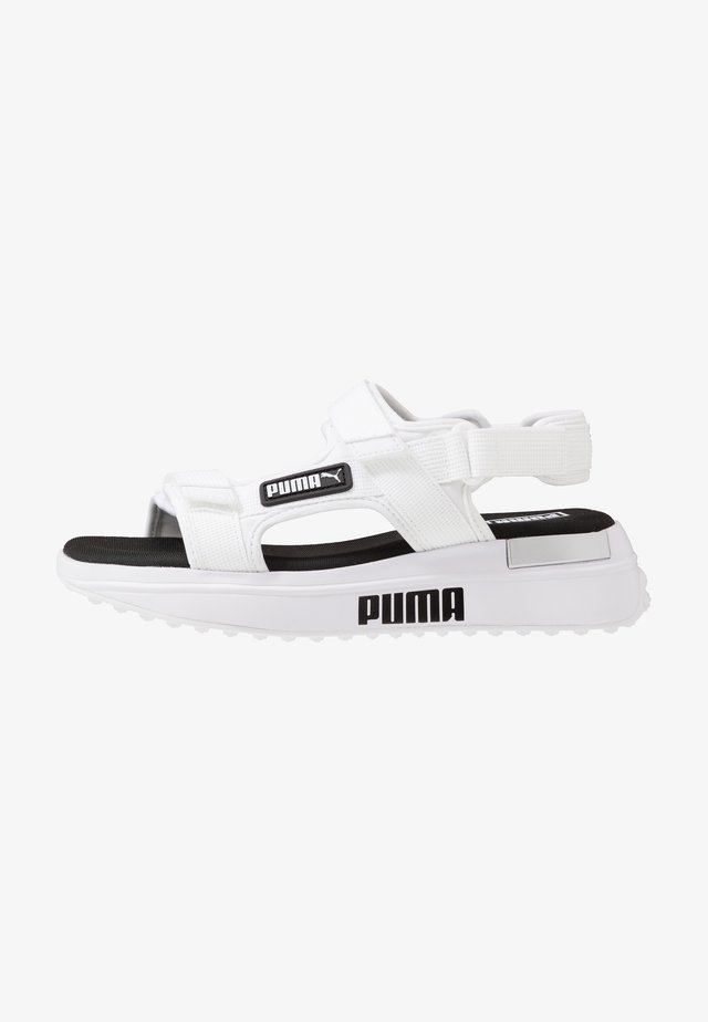 RIDER  - Walking sandals - white/black