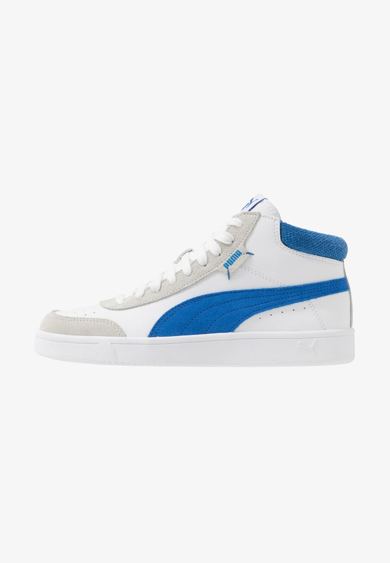 Puma - COURT LEGEND - Baskets montantes - white/palace blue