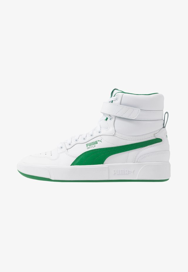 SKY LX MID - High-top trainers - white/green