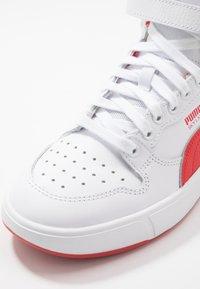 Puma - SKY LX MID - Zapatillas altas - white/high risk red - 5
