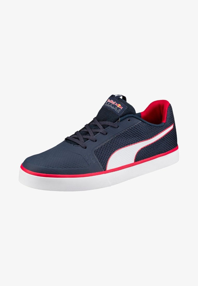 Puma - RED BULL RACING WINGS VULC - Sneakers - total eclipse/puma white/chinese red